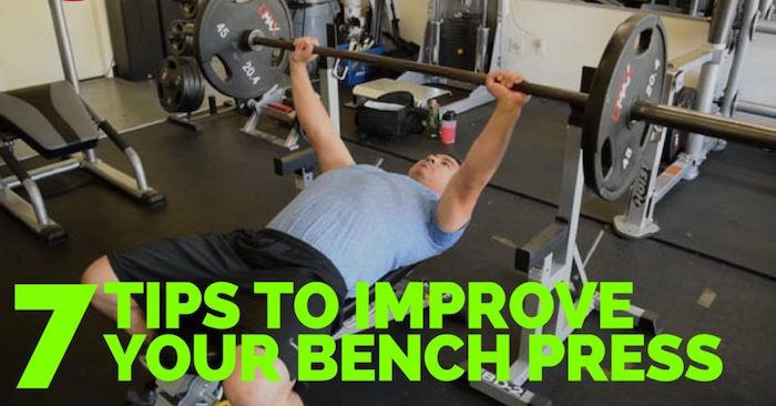7 Tips to Improve Your Bench Press | KIPS