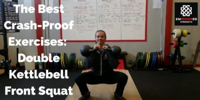The Best Crash-Proof Exercises: Double Kettlebell Front Squat