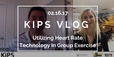 KIPS VLOG | Utilizing Heart Rate Technology in Group Exercise | feat. Dr. Ayla Donlin