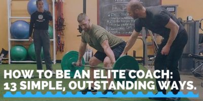 How to be an Elite Coach: 13 Simple, Outstanding Ways.