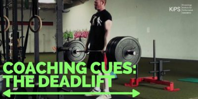 Coaching Cues: The Deadlift