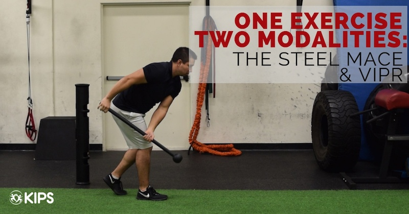One Exercise Two Modalities: The Steel Mace & ViPR