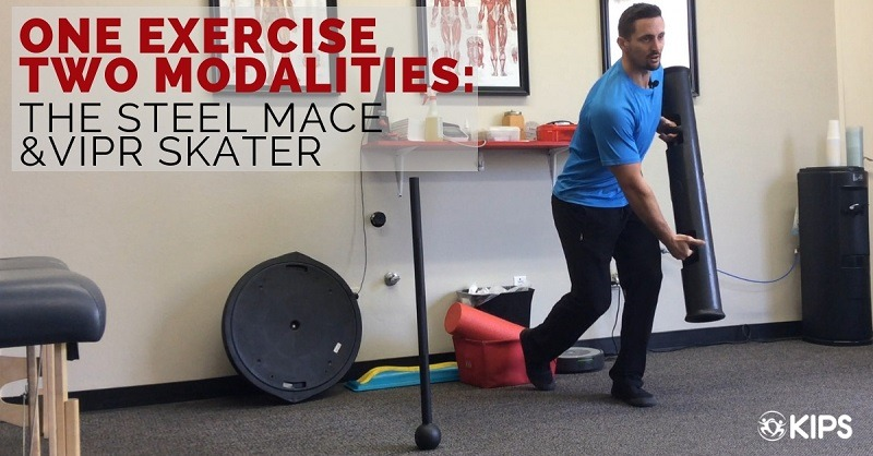 One Exercise Two Modalities: The Steel Mace & ViPR Skater