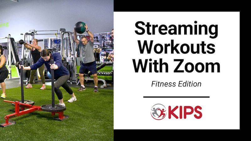 Streaming Workouts With Zoom | Fitness Edition