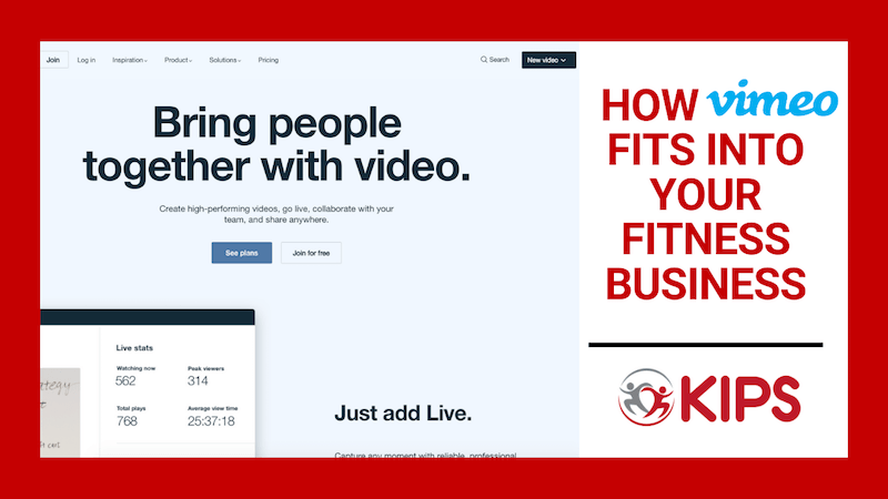 How Vimeo Fits Into Your Fitness Business | Positives & Negatives