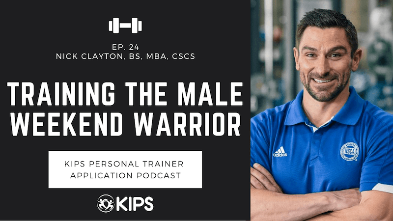 Training the Male Weekend Warrior feat. Nick Clayton
