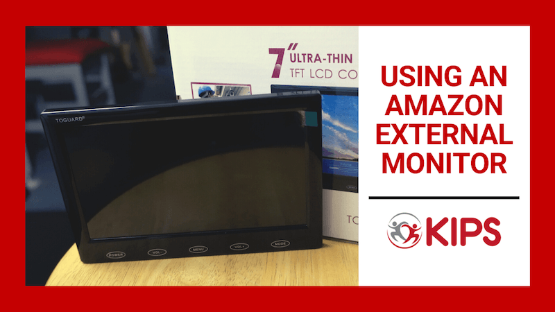 Using an Amazon External Monitor | Smartphone Accessories