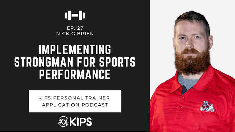 Implementing Strongman for Sports Performance feat. Nick O'Brien