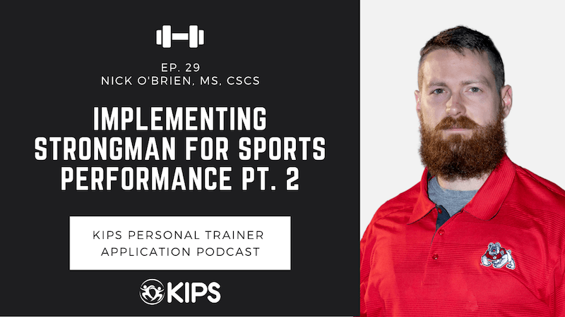 Implementing Strongman for Sports Performance PT. 2 feat. Nick O'Brien