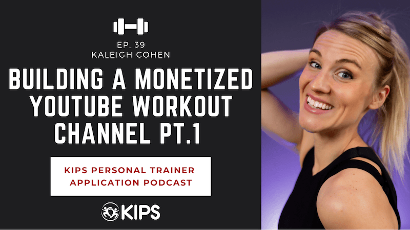 Building a Monetized YouTube Workout Channel Pt.1 feat. Kaleigh Cohen