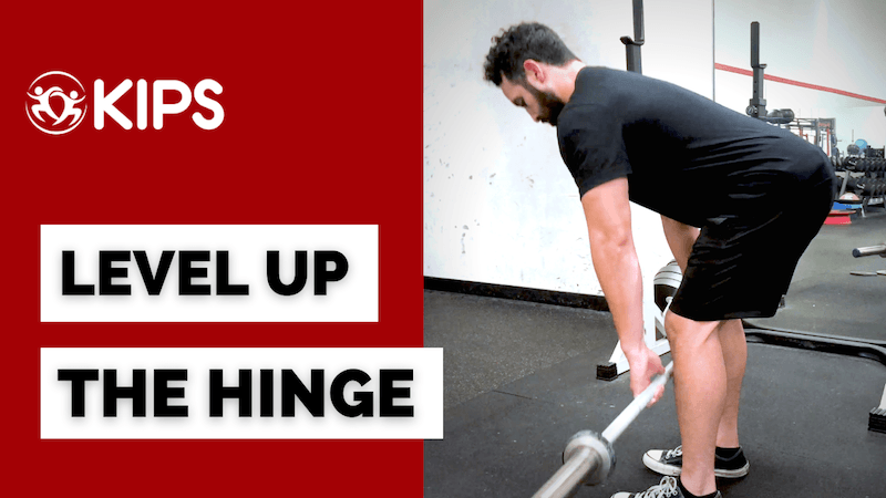 Level Up The Hinge | Help Your Clients Hinge and Not Squat