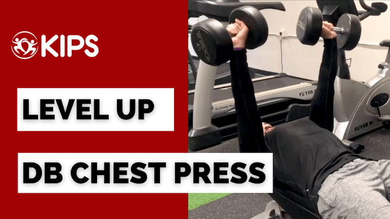 Dumbbell Chest Press | One Small Change That Can Take Your Training to the Next Level