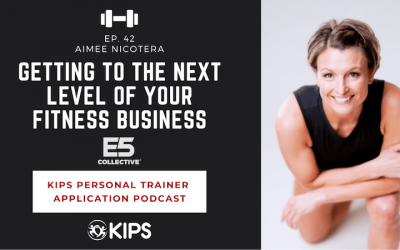 Getting to the Next Level of Your Fitness Business feat. Aimee Nicotera